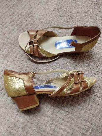 Туфли для бальных танцев латина ,разм 20см.