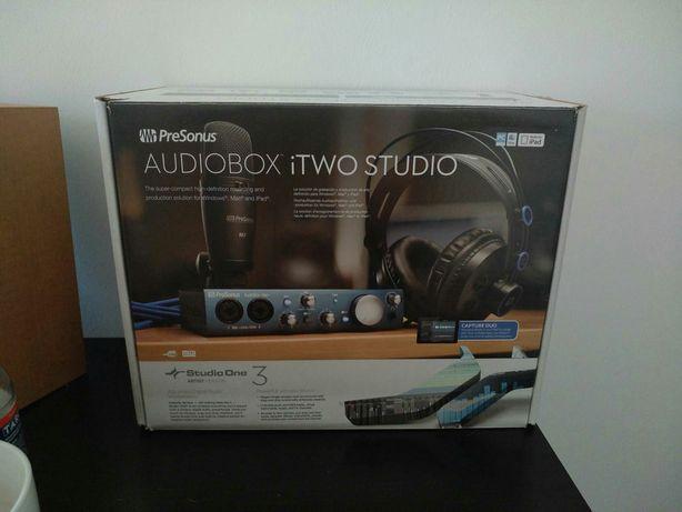 PreSonus AudioBox iTWO Studio. Jak nowy! Zestaw do nagran. najtaniej!