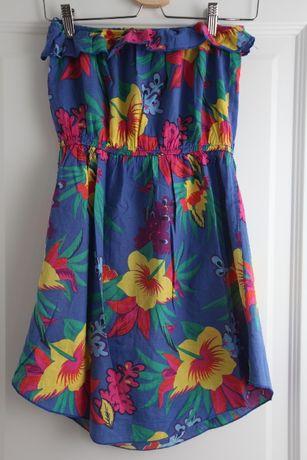 Paczka ubrań w r. S Hollister, zara sukienka koszulki spodnie