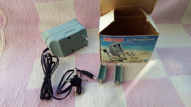 Зарядное для АА-ААА аккумуляторов + блок питания 3-4,5-6 В