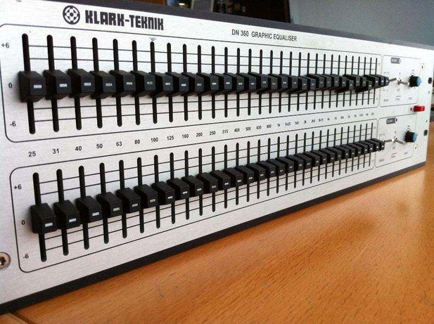 Klark Teknik DN360 - Equalizador Profissional