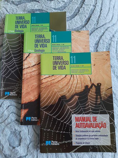Manual e caderno de atividades - Terra, universo de vida - 11 ano
