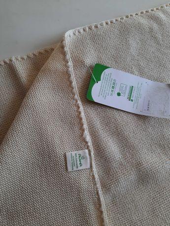 Manta bebé em lã orgânica