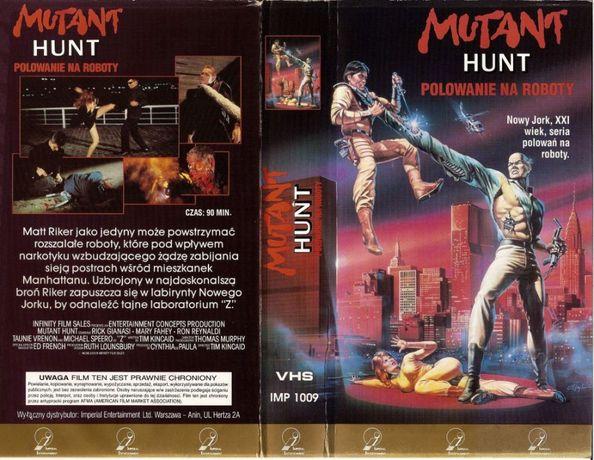 Kasety VHS Video Horror Science-Fiction Sensacyjne Erotyki