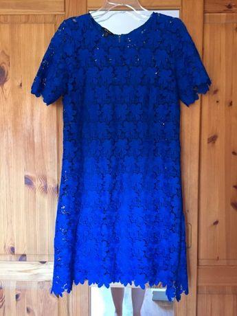 Kobaltowa sukienka Ette Lou