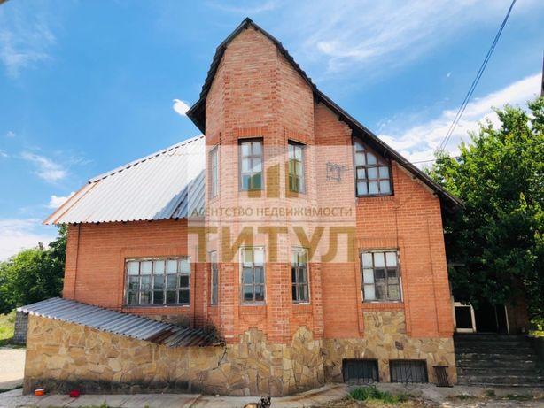 Продается дом 2 этажа ( 345 м2) + огромный склад 400 м2 + 50 соток зем
