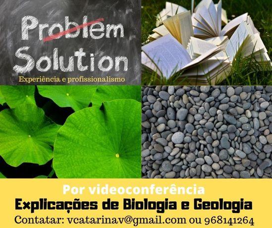 Explicações Biologia/Geologia -Braga- Videoconferência/ Prep. p exame