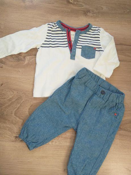 Komplet bluzka spodnie h&m