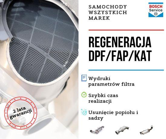 Regeneracja DPF FAP VW TOURAN 1.6 TDI 1.9 2.0 TDI