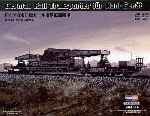 German Rail Transporter für Karl-Gerät