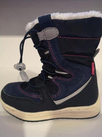 Śniegowce buty zimowe 26 ocieplane