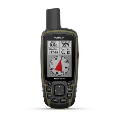 Туристичний Рыболовный GPS навигатор Garmin GPSMAP 65s 010-02451-10