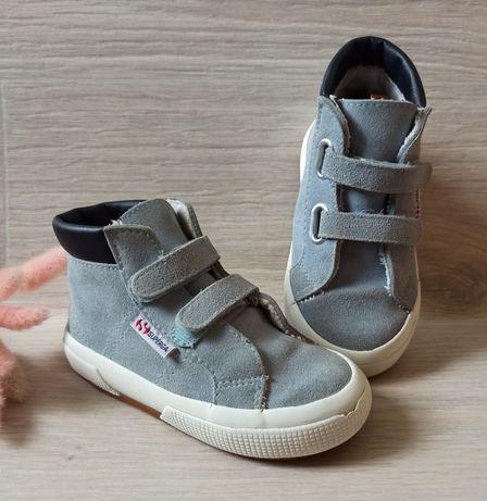 Демисезонные ботинки Superga 25 размер