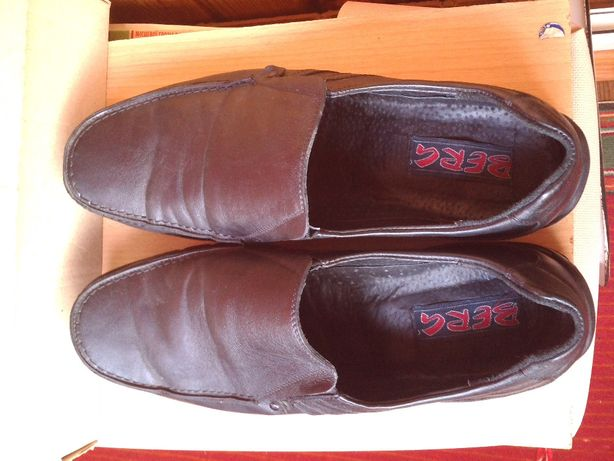 Туфли мужские кожаные, 45р.