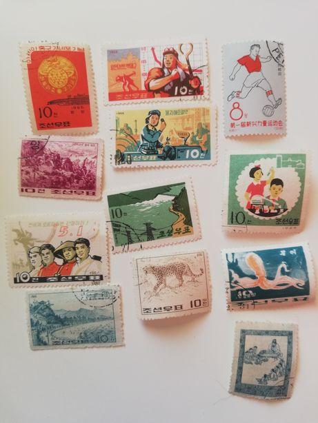 Znaczki pocztowe Chińskie