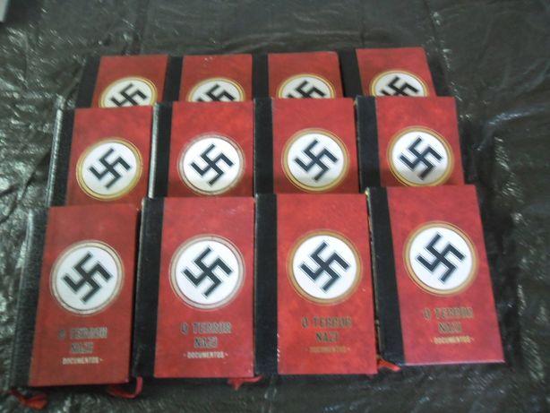 livros cronicas da segunda guerra mundial e terror nazi