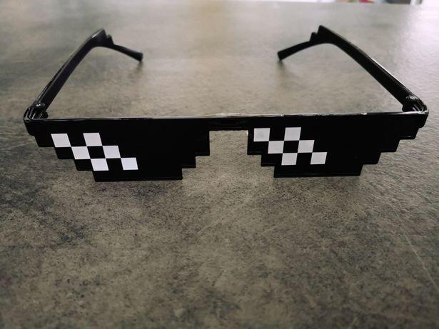 Okulary thug life pixel minecraft
