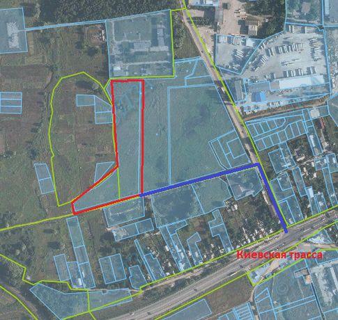 Продам участок земли поселок Песочин (3 км от Харькова) 2 гектара.