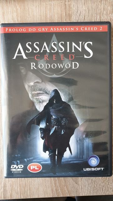 Film Assassin's Creed Rodowód DVD lektor