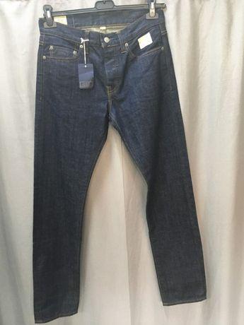 J.Crew NOWE jeansy granatowe 29/32 model 484