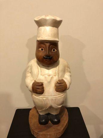Boneco em Teka, para cozinha ou restaurante