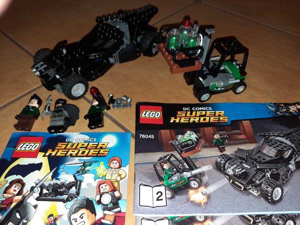 Lego 76045 super heroes przechwycenia kryptonitu