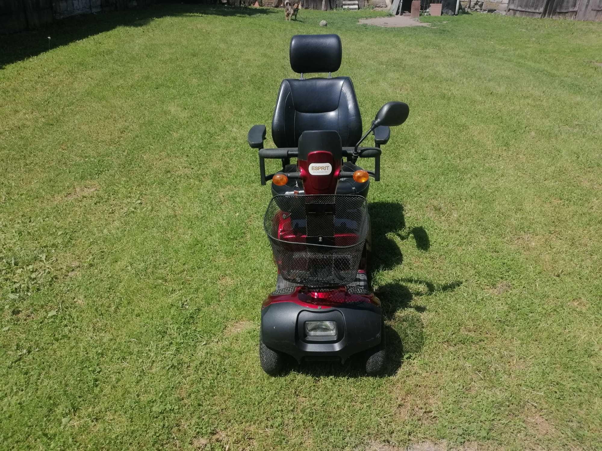 Wozek skuter elektryczny inwalidzki wygodny sprawny bardzo przydatny