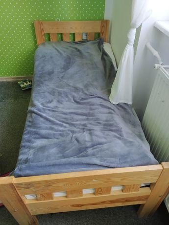 Drewniane łóżko dla dzieci jak Ikea