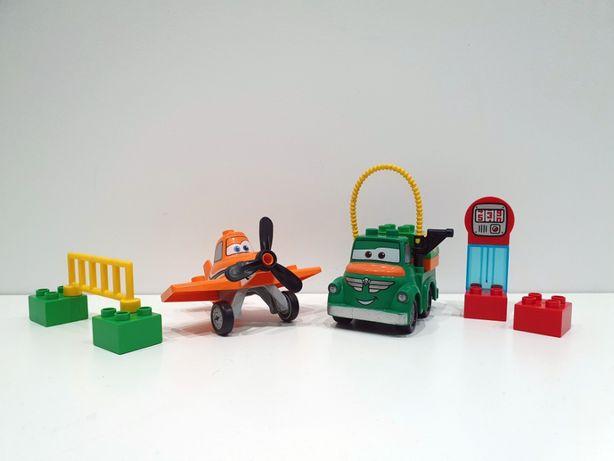 Lego DUPLO 10509 Dusty i Beka, planes, samoloty, cysterna, klocki