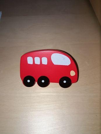 Puxador Móvel Autocarro Vermelho