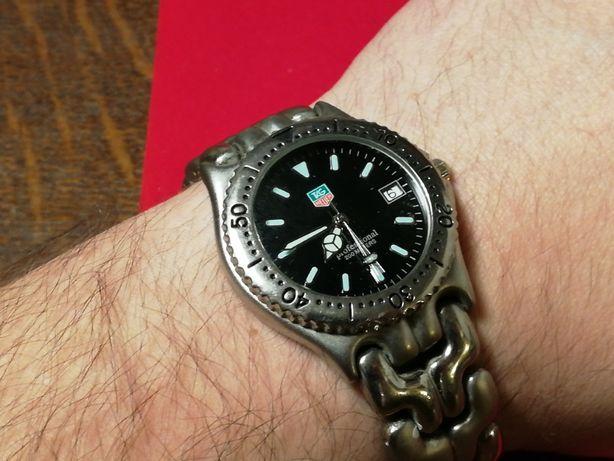 Oferuję męski zegarek na bransolecie diver - szybka zmiana daty