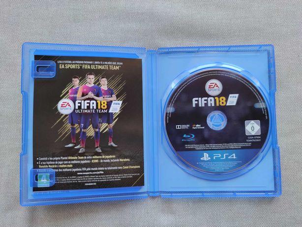 FIFA 18 PS4 jogo na caixa original