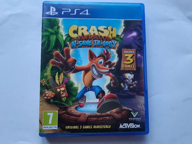 Gra na konsolę PS4 Fifa Crash Bandicoot N-Sane Trilogy