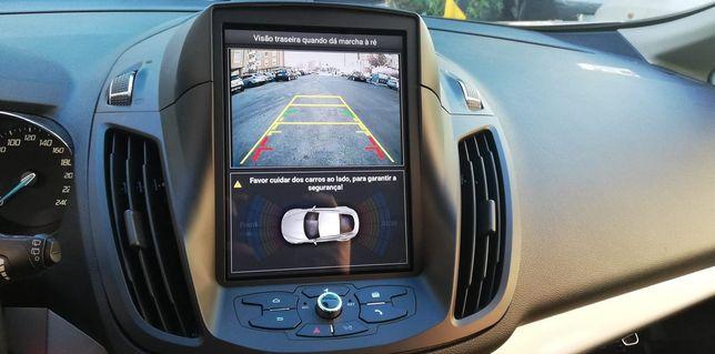 Ford Kuga Rádio Android GPS Bluetooth USB tipo Tesla
