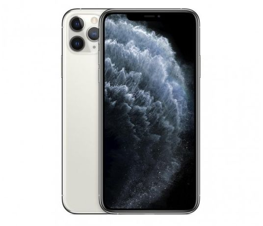 Apple iPhone 11 Pro Max 64GB - Silver prawie nowy gwarancja