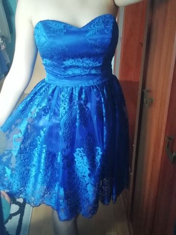 Chabrowa sukienka r. 38
