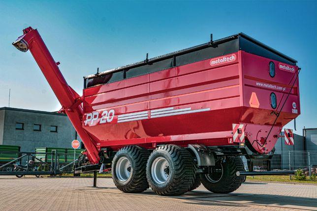 Przyczepa przeładowcza wóz przeładowczy METAL-TECH PP 20 ton 14 ton