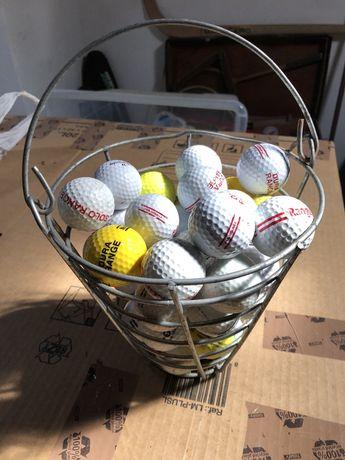 Bolas golfe mais cesto
