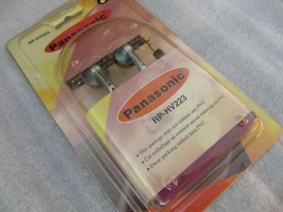 Наушники Panasinic HV-223, длина шнура 1,1 м, новые Белозерье - изображение 1
