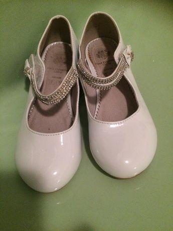 Białe buty buciki Paul Costelloe r 30 Komunia