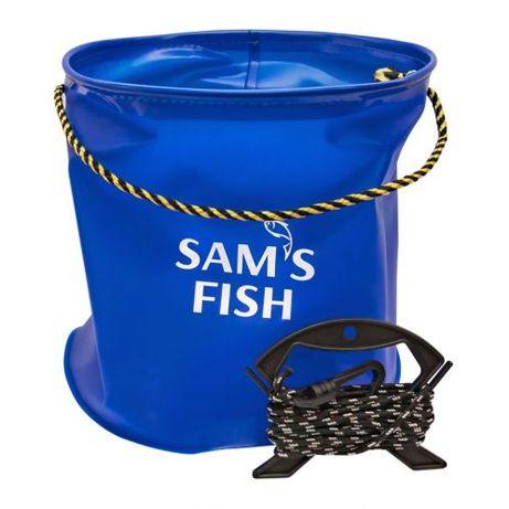 Ведро рыболовное Sams Fish 10 літрів