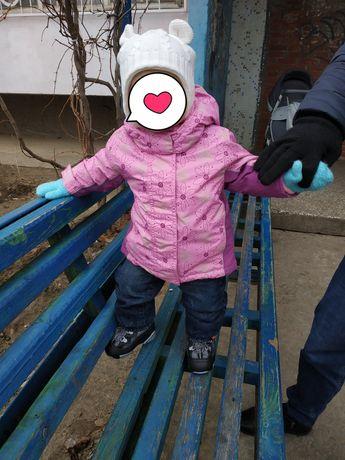 Куртка для девочки TCM Tchibo, термо куртка на 9-12 мес