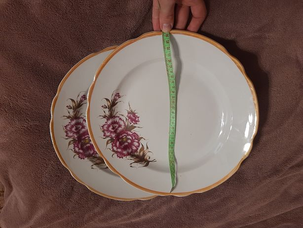 Тарелка, блюдо ссср, диаметр 30 см