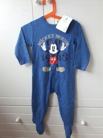 Nowy pajac Disney Baby, rozmiar 80 (18msc)