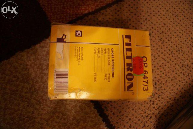 FILTRON filtr oleju OP647/3 - Zetor John Deere Desta