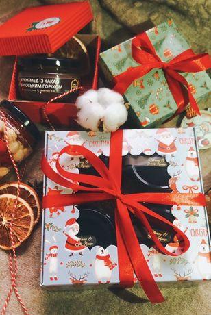 Подарочные наборы на любой празник с медовыми десертами