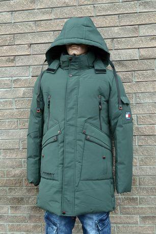 Зимняя молодежная куртка мужская
