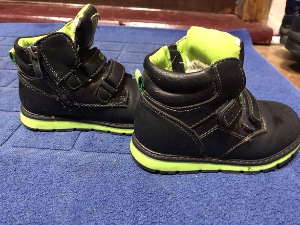 Ботинки на меху фирмы Clibee, размер 25