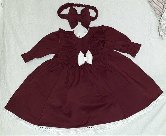 Платье для девочки 3-4 месяцев