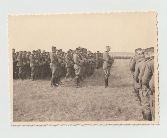 Stare zdjęcia Wehrmacht gefallene Soldaten apel poległych